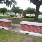 Brick-Style Finish Lends Grace To Protective Barriers